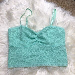 Lacey crop top